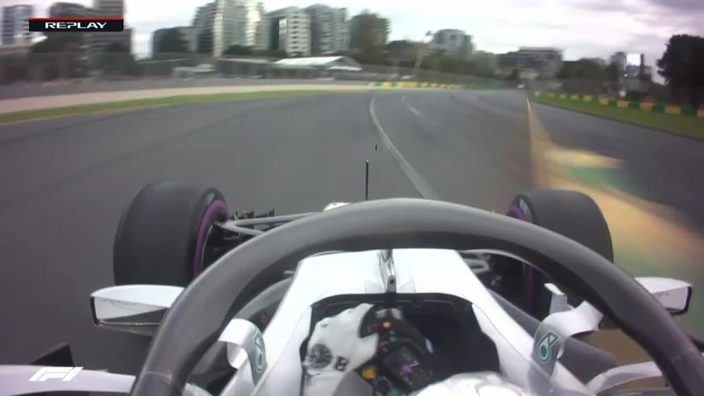 ONBOARD: Lewis Hamilton's Australia pole lap