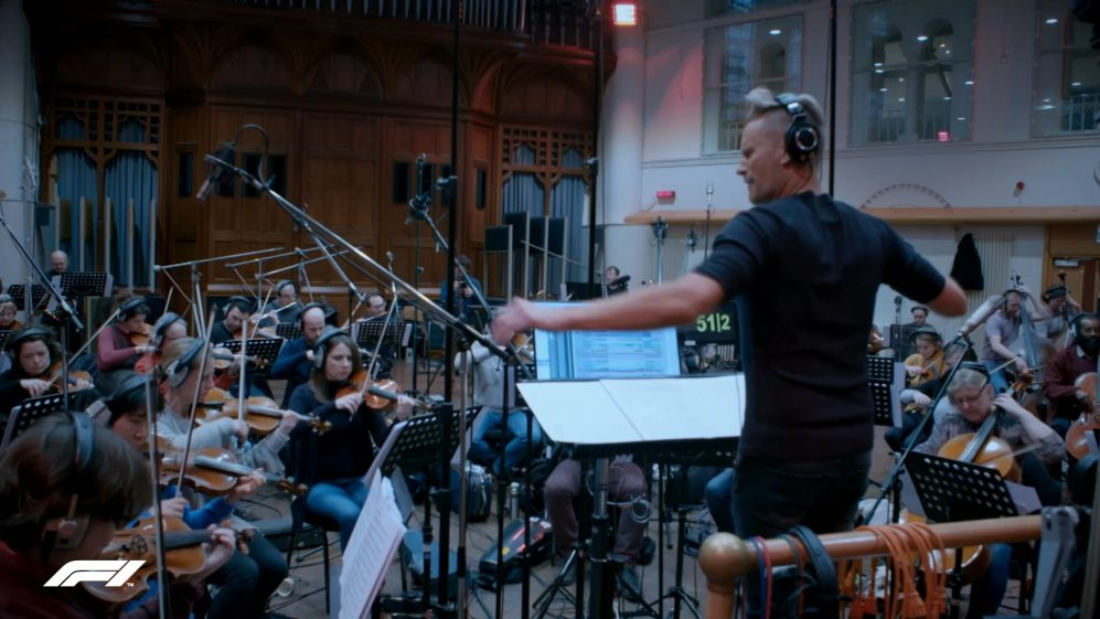 Orchestrating F1 - Brian Tyler and the London Philharmonic