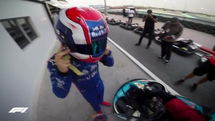 F1 DRIVER VS FAN: Can Pierre Gasly be beaten on the kart track?
