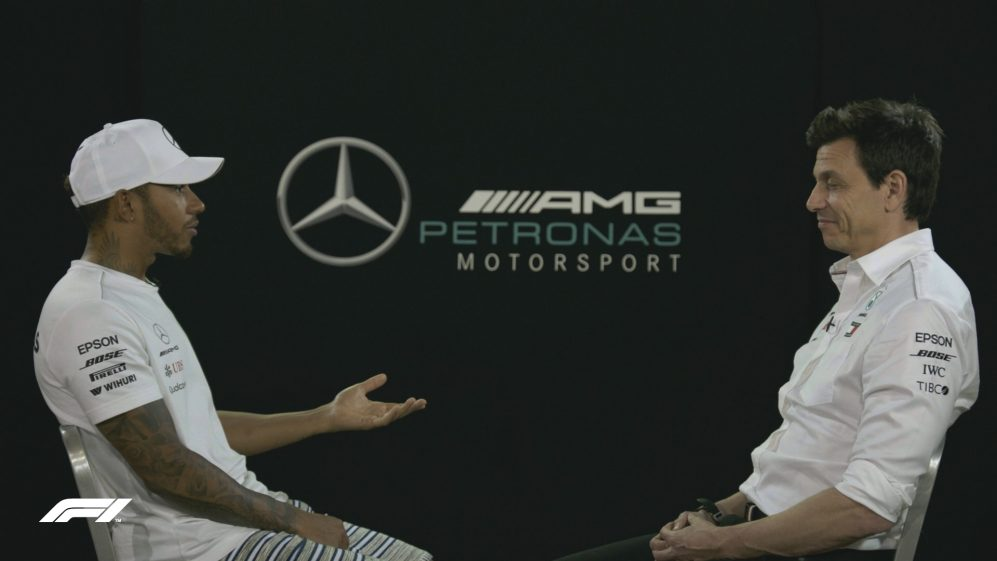 100 RACES IN: Lewis and Toto in conversation