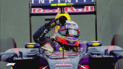 NO BORING RACES: All 6 of Ricciardo's F1 wins