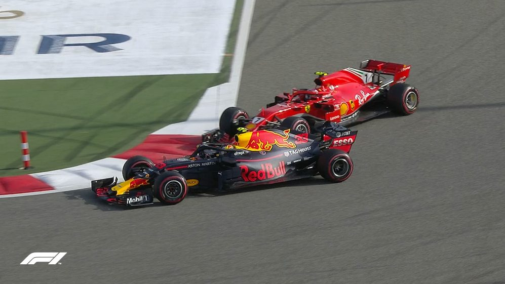 FP3: Raikkonen and Verstappen come close to contact