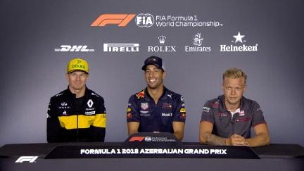 HIGHLIGHTS: FIA Thursday press conference - Azerbaijan