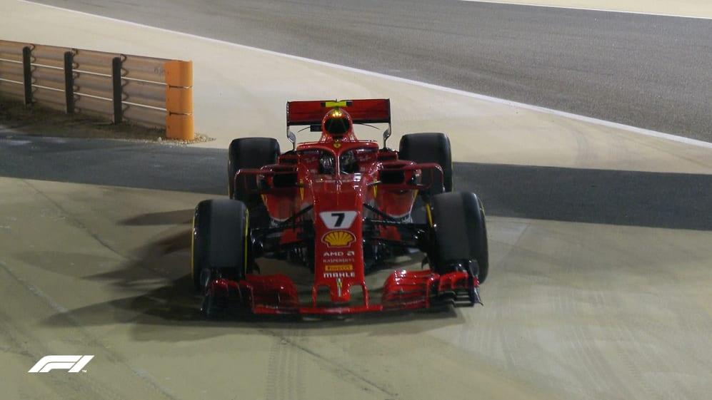 FP2: Wobbly wheel halts Raikkonen