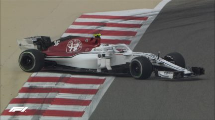 FP1: Sakhir spins for Stroll and Leclerc