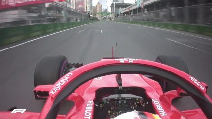 ONBOARD: Sebastian Vettel's Azerbaijan pole lap