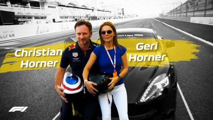 CHRISTIAN DRIVES GERI - A Pirelli Hot Lap with the Horners