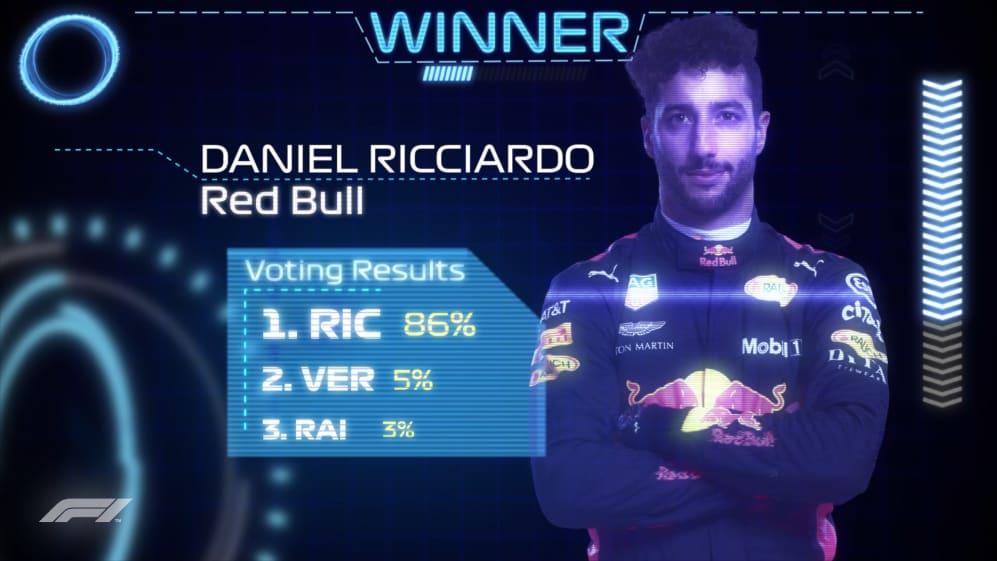 DRIVER OF THE DAY: Daniel Ricciardo