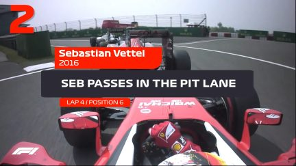 CHINESE GP: 5 crazy onboard moments