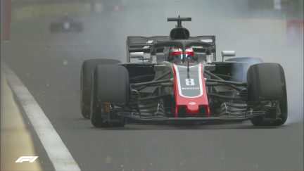 QUALIFYING: Grosjean goes out early with gearbox issue