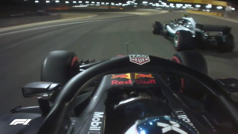 FP2: Ricciardo and Bottas come too close for comfort
