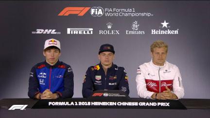 HIGHLIGHTS: FIA Thursday press conference - China