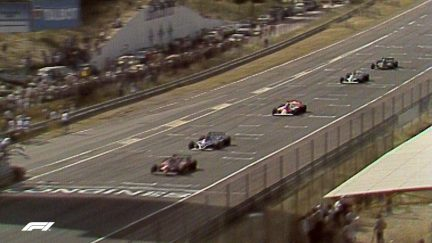 F1 VAULT: Villeneuve's defensive masterclass at Spain '81