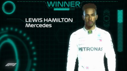 DRIVER OF THE DAY: Lewis Hamilton