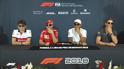 HIGHLIGHTS: FIA Wednesday Press Conference - Monaco