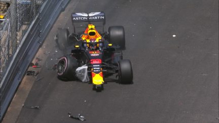 FP3: Verstappen crashes out of final Monaco practice