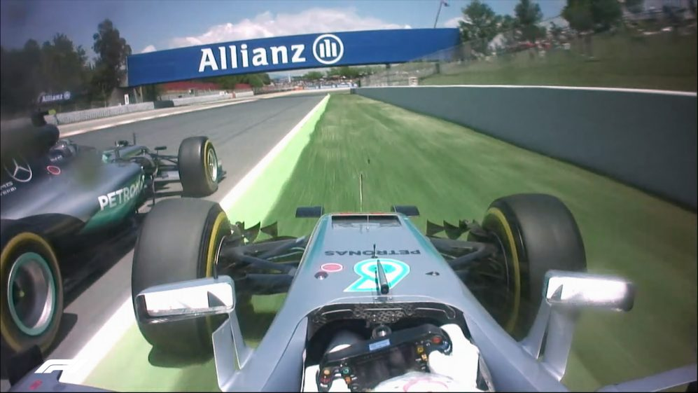SPANISH GP: 5 crazy onboard moments