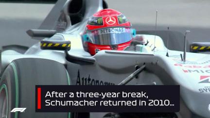 F1 VAULT: Schumacher's 'illegal' overtake of Alonso in Monaco