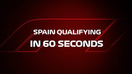 IN 60 SECONDS: Spanish GP qualifying