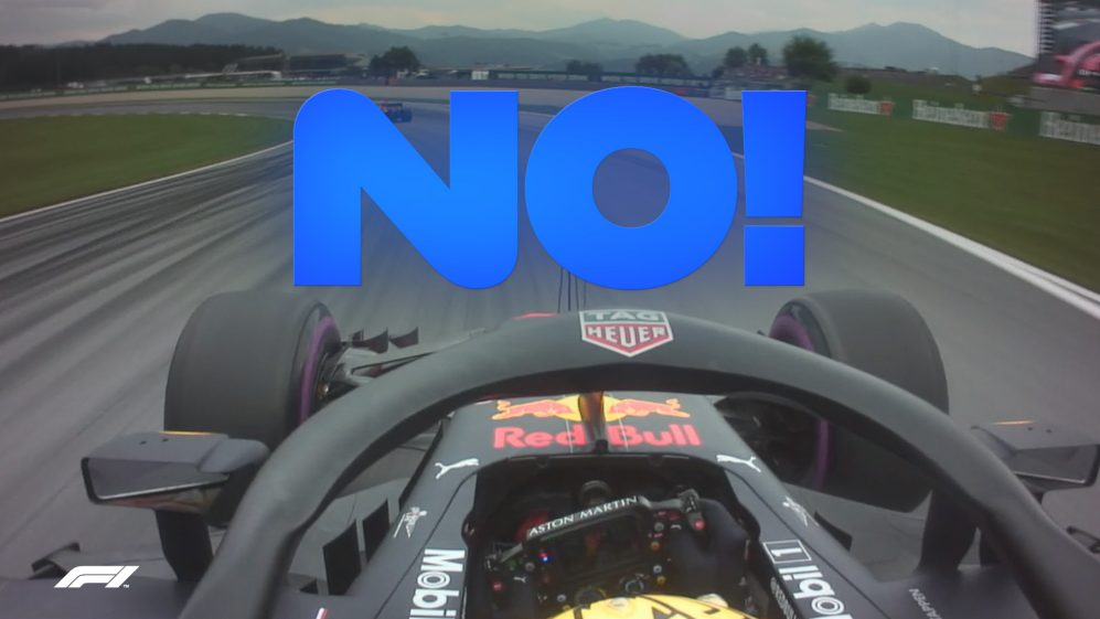 QUALIFYING: Verstappen and Ricciardo disagree over track position