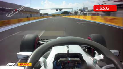 DHL Fastest Lap Award - France