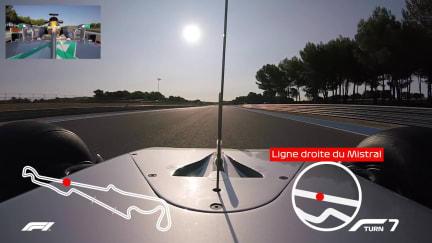 CIRCUIT GUIDE: Lewis Hamilton's onboard lap of Paul Ricard