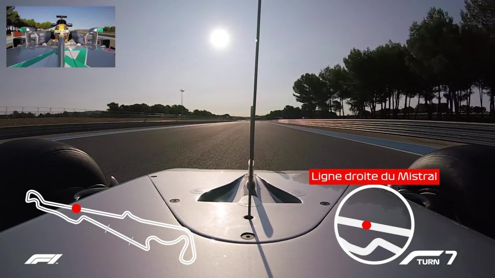 CIRCUIT GUIDE: Lewis Hamilton's onboard lap of Paul Ricard