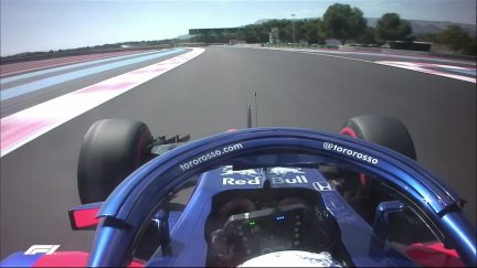 Home hero Gasly guides us around a lap of Paul Ricard