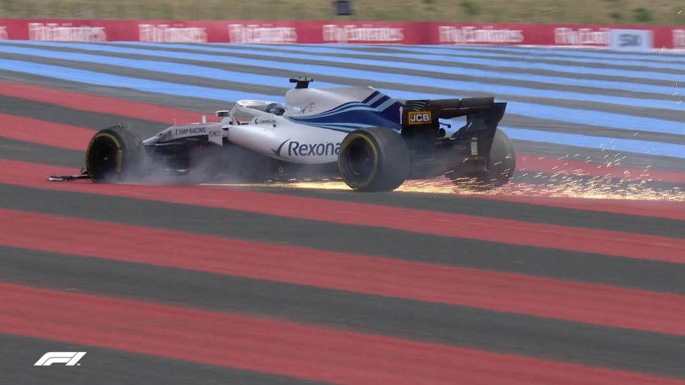RACE: Tyre blow-out pitches Stroll into retirement