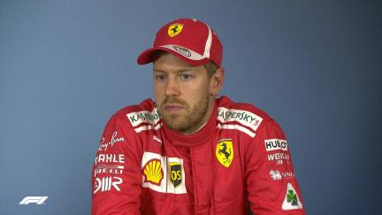 Vettel explains 'block' that earned him 3-place grid drop