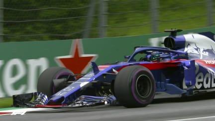 FP3: Hartley loses bodywork on Spielberg kerbs