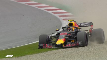 FP3: Verstappen and Raikkonen go off-roading