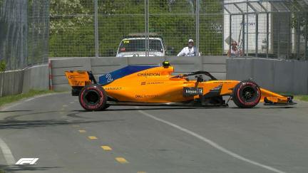 FP3: Vandoorne struggles to manoeuvre back on track