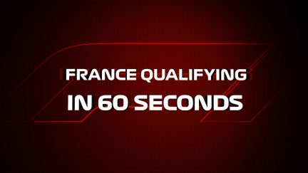 IN 60 SECONDS: France qualifying