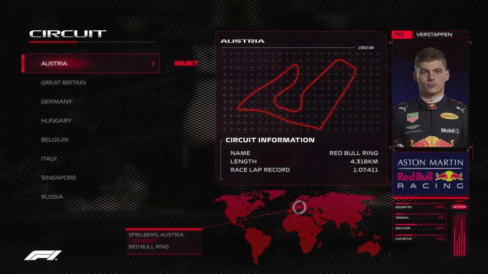 CIRCUIT GUIDE: Max Verstappen's virtual hot lap of Austria