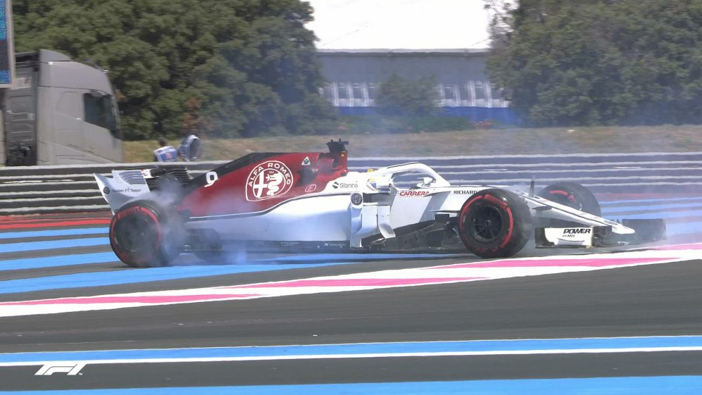 FP1: Spins galore at windy Paul Ricard