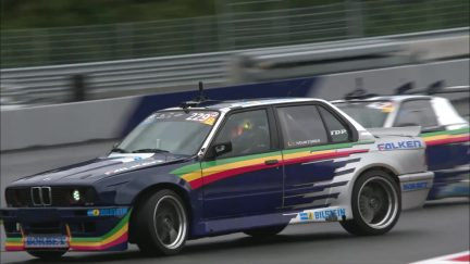 Drift Brothers give Ricciardo and Verstappen a lesson in drifting