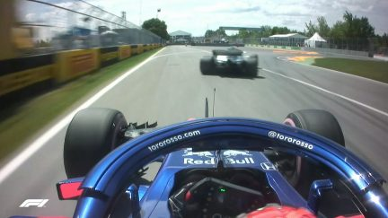 FP3: Traffic trouble sends Hartley the wrong way