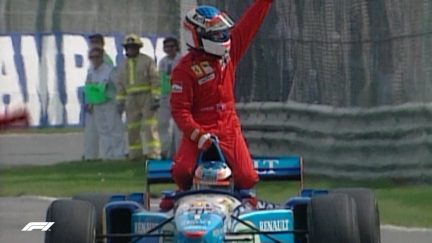 F1 VAULT: Alesi scores emotional first win at Canada '95