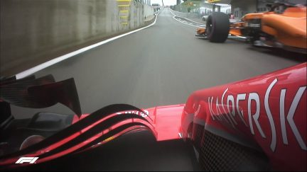 FP1: Vettel and Vandoorne come close in the pits