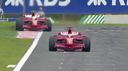F1 VAULT: The last French GP in 2008