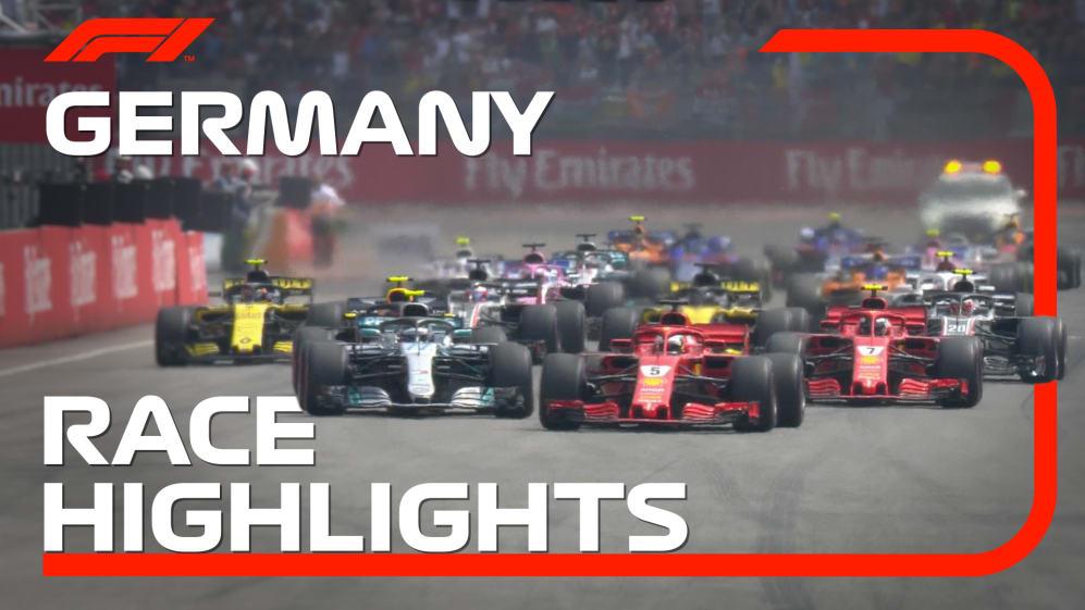 HIGHLIGHTS: 2018 German Grand Prix