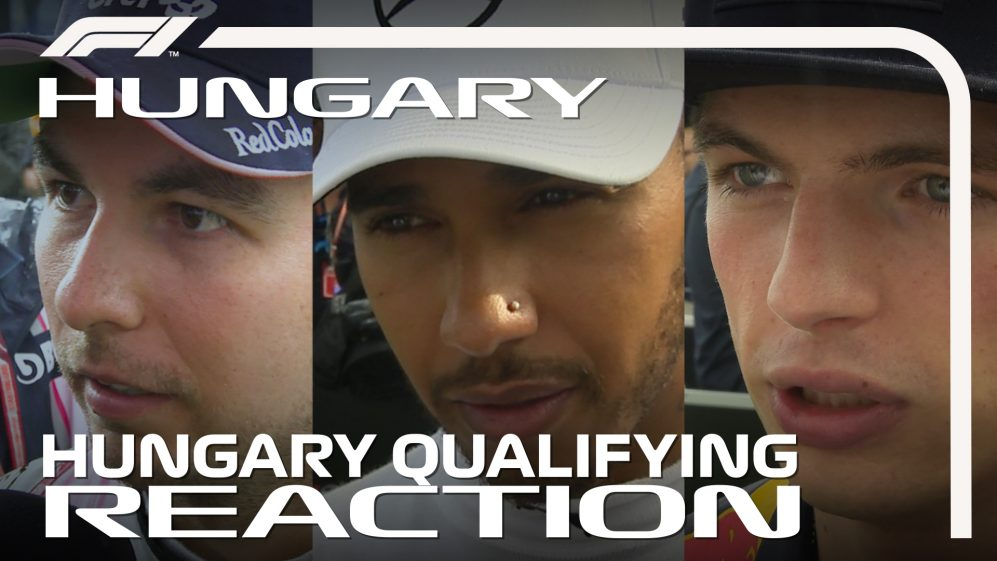 HUNGARIAN GP: Drivers report back after qualifying