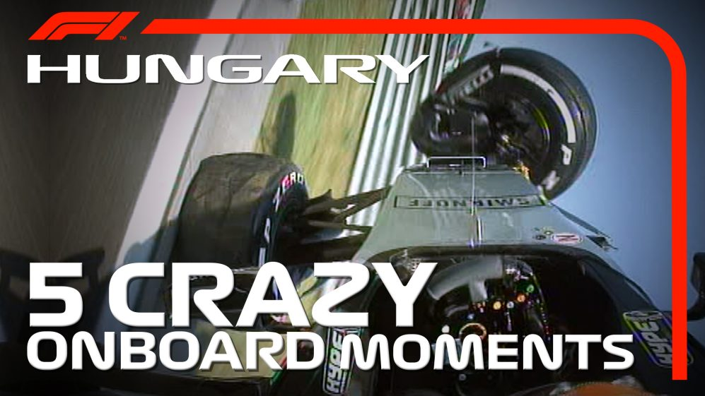 HUNGARIAN GP: 5 crazy onboard moments