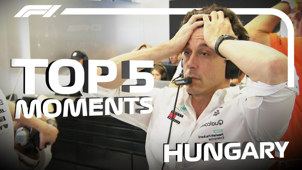 HUNGARY: Top 5 moments from the weekend