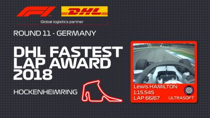 DHL Fastest Lap Award - Germany