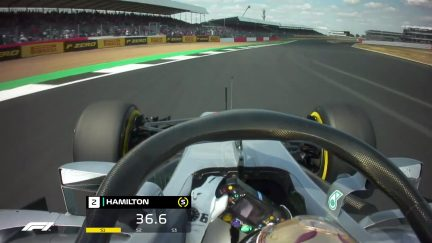 ONBOARD: Lewis Hamilton's Great Britain pole lap