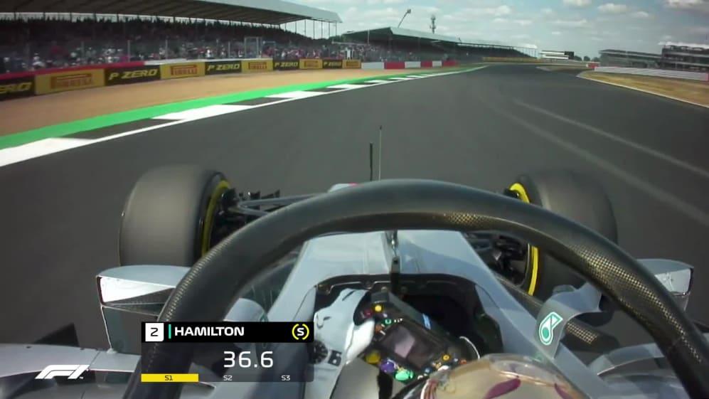 ONBOARD: Lewis Hamilton's Great Britain pole lap