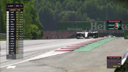 RACE: Mercedes take blame for Hamilton strategy error