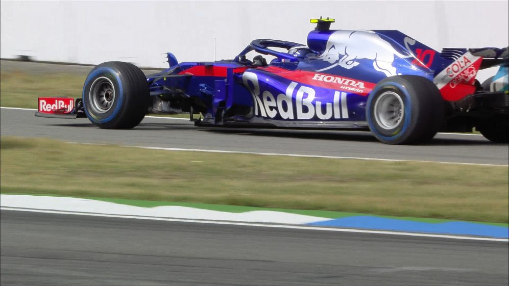 RACE: Gasly regrets early switch to wet tyres
